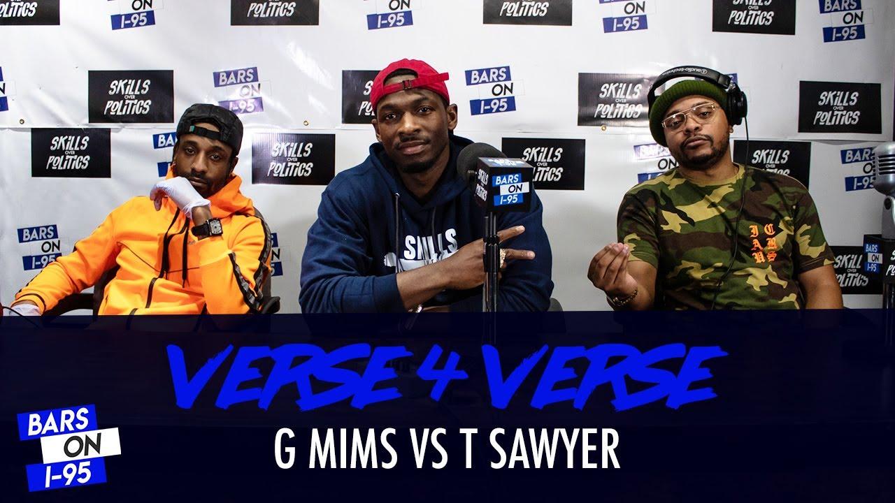 G Mims & T Sawyer Bars On I-95 V4V Freestyle