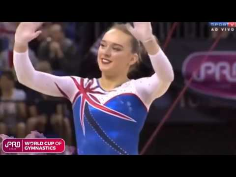 iPro Sport World Cup of Gymnastics - Amy Tinkler