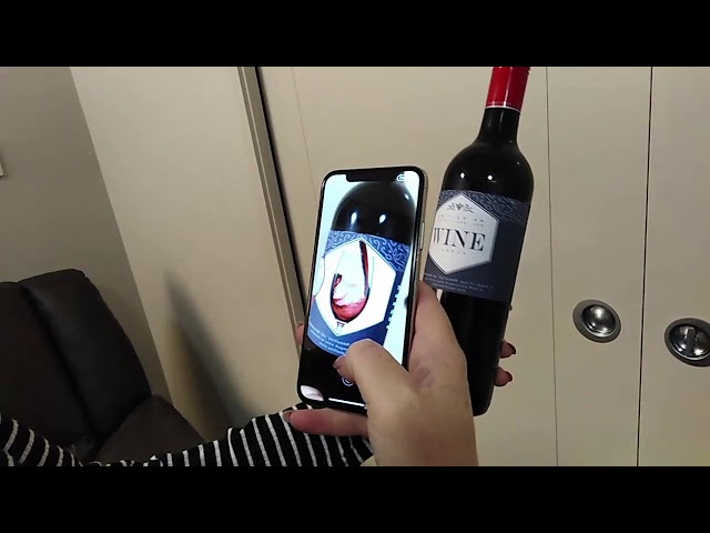 Augmented Reality Wine Labels in UnifiedAR