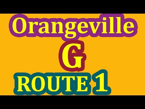 ORANGEVILLE G (G2 Exit) Driving Test ROUTE 1 - Pass Your G Exam On 1st Attempt - Step By Step