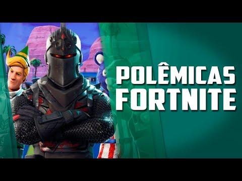 Muitas polêmicas em Fortnite e novos controles de playstation 4