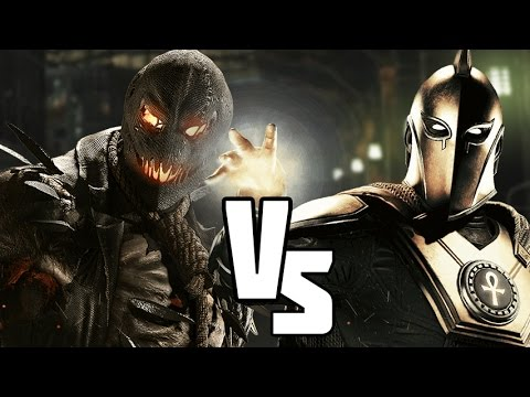 Injustice 2 Scarecrow VS Dr Fate (INJUSTICE VERSUS)