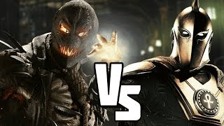 Injustice 2 Versus! DOCTOR FATE VS SCARECROW Who will Win this DC S...
