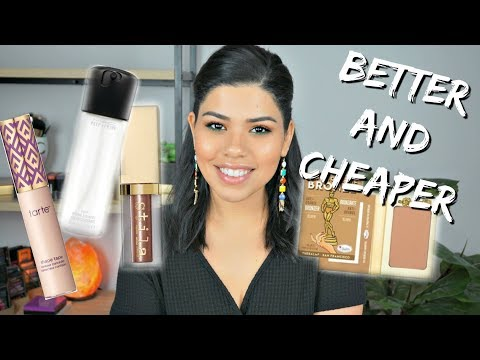 HIGHEND MAKEUP I REPLACED AT THE DRUGSTORE