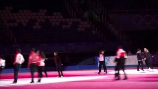 NEW! Yuna and Denis Gala Rehearsal Sochi 2014 Fan Video 720P