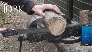 the best bushcraft saw silky gomboy 210 field test