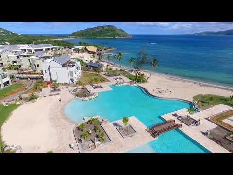 Visita aérea al nuevo resort de Hyatt en St. Kitts