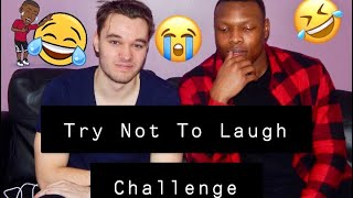 Try Not To Laugh Challenge w/ Nick | TheNginduTube