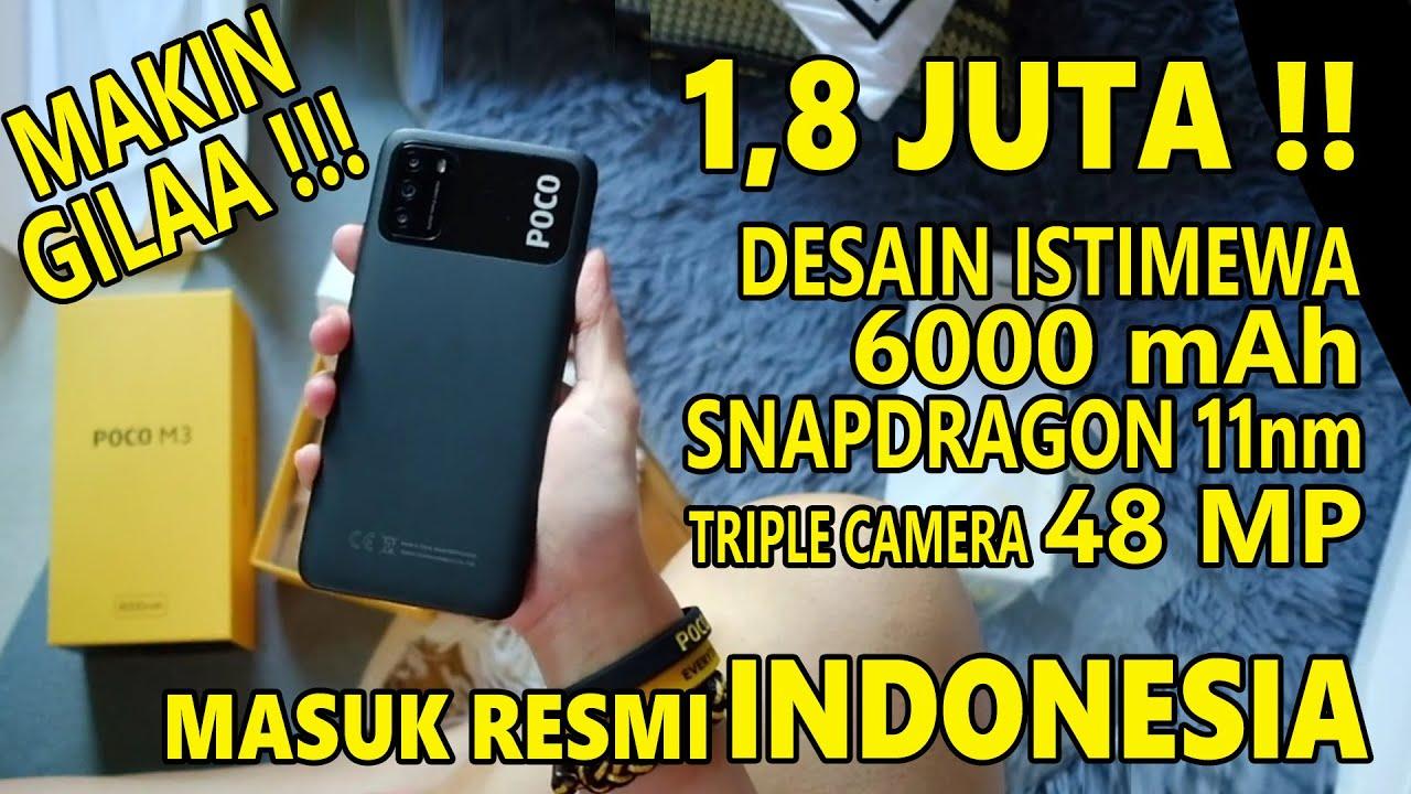 RESMI 1,8 Juta!! POCO M3 Indonesia | Bakalan LARIS MANIS !!
