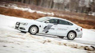 Тест-драйв Audi quattro vs Ice   Ауди Центр Воронеж   18.01.2015