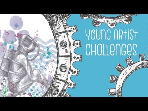 My Experiences as a Young Artist | Part 2 | Drawing Timelapse