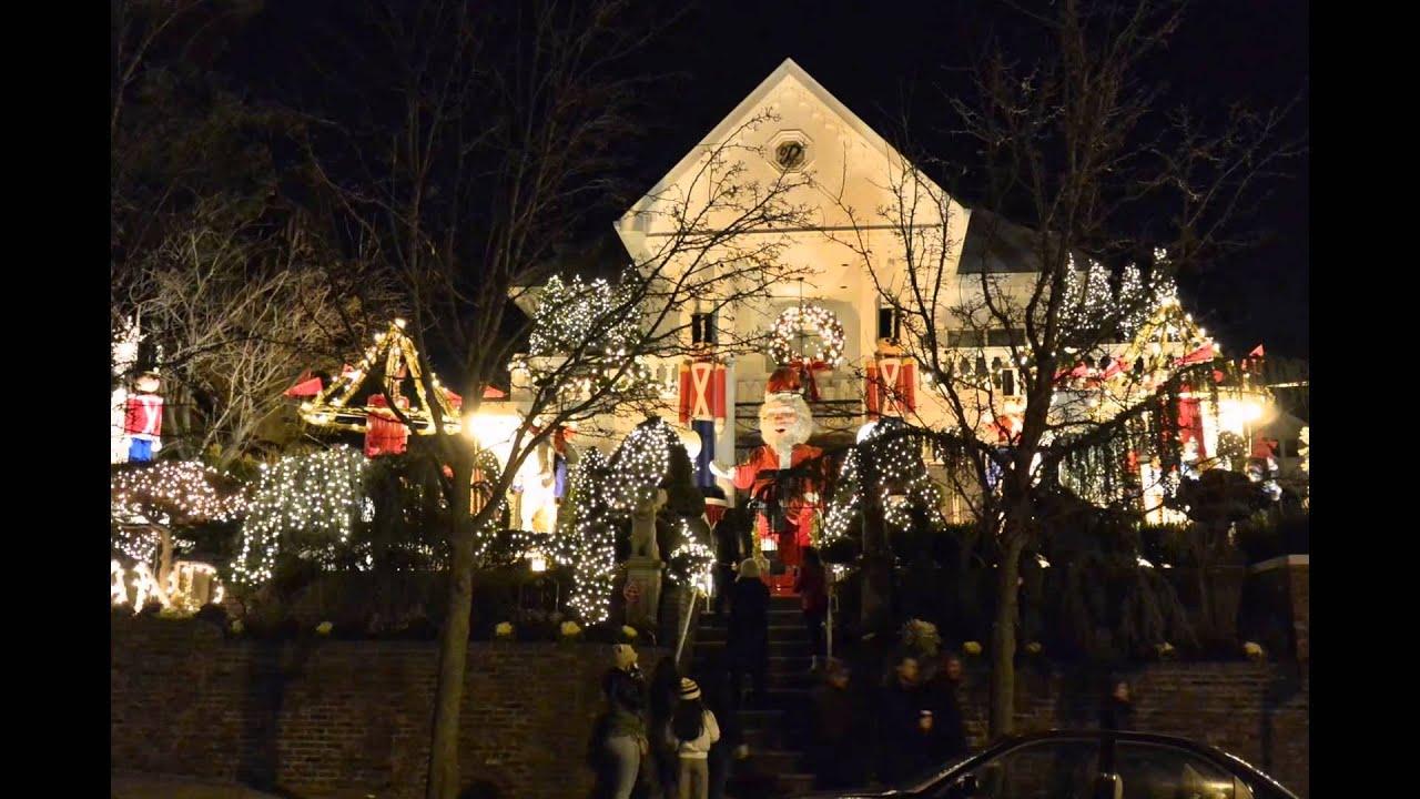 christmas lights of dyker heights brooklyn new york 2014 - Christmas Lights In Brooklyn