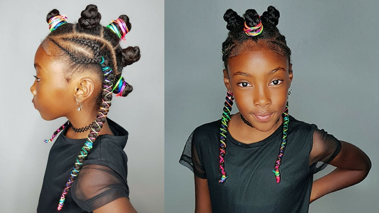 The Black Unicorn- Hairstyles For Girls