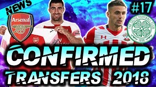 ⚽ CONFIRMED SUMMER 2018 TRANSFERS :#17: Ft Sokratis Papastathopoulos to Arsenal