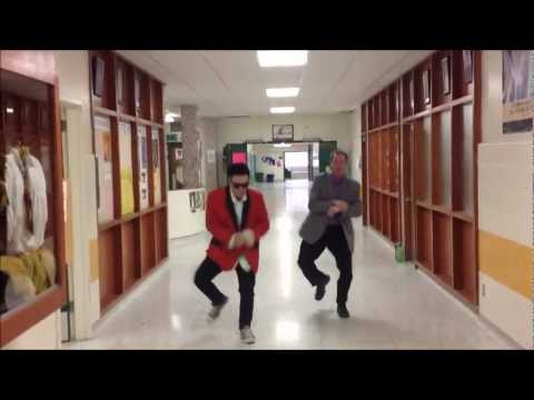 Gangnam Style - PSY (Campbell Collegiate Pep Rally Ver.)