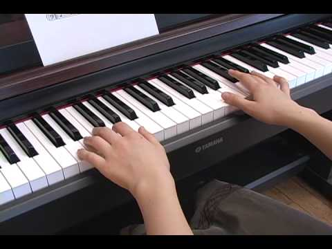 Basic Guitar Chords Played On The Piano Youtube