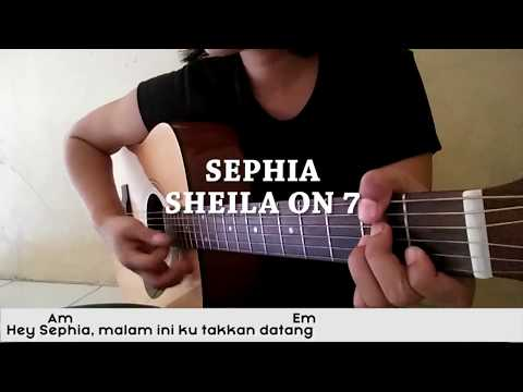 (SIMPLE COVER) SEPHIA - SHEILA ON 7