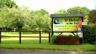 St Helens in the Park Camping and caravanning site, Scarborough