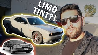 CHALLENGER gets  *LIMO* Tint plus SLEEPER CIVIC 410 hp!