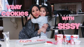 SNOOKI AND SISSY'S VALENTINE'S DAY COOKIES
