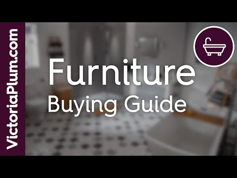 Furniture buying guide from victoriaplum.com