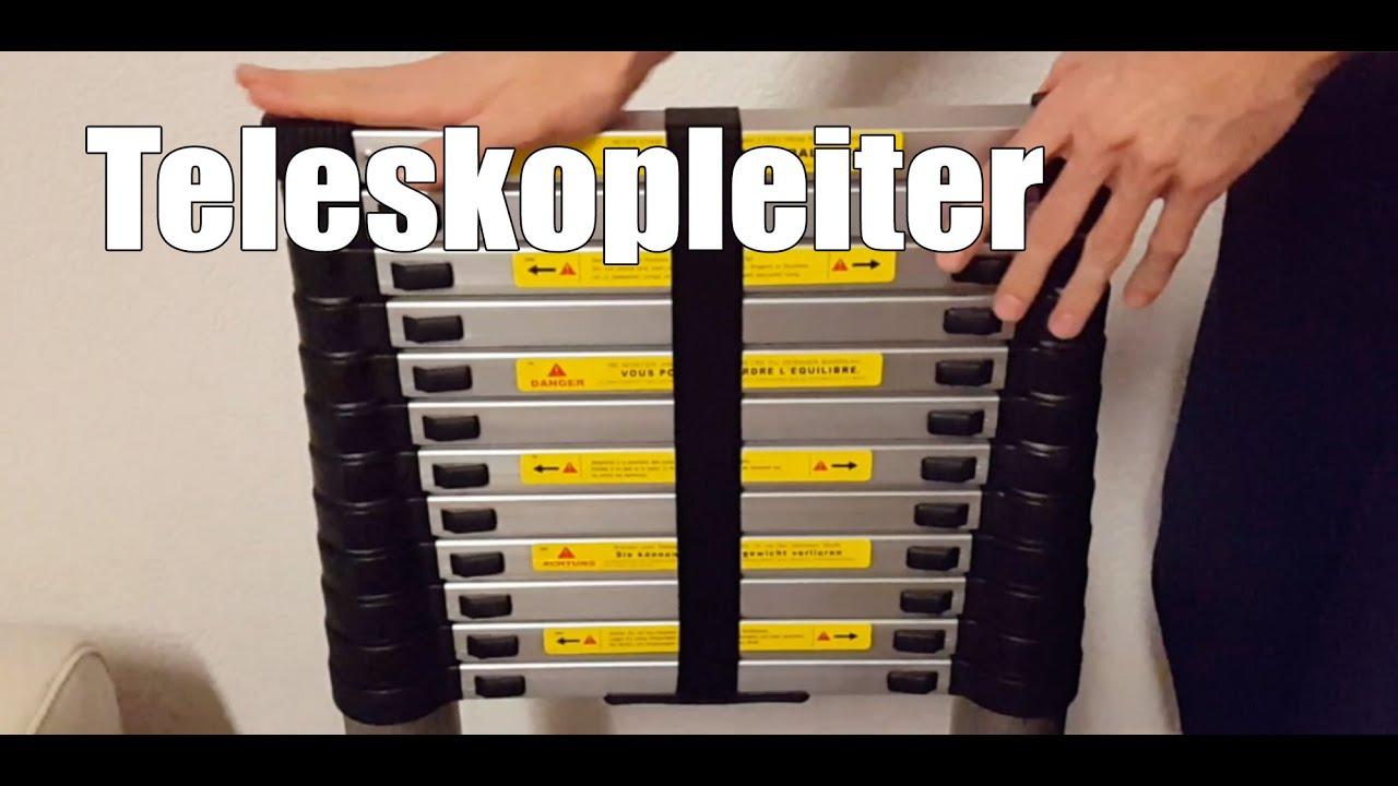 Teleskopleiter test stepomax teleskopleiter meter mit