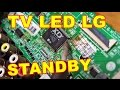 TV LED LG 42 Rusak Standby VLOG36