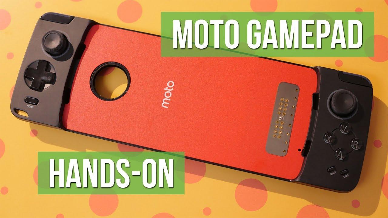 outlet store 60b8f dff7b Motorola Moto Mods: Moto GamePad hands-on