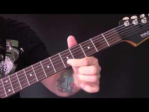 My Funeral Guitar Tutorial by Dark Funeral