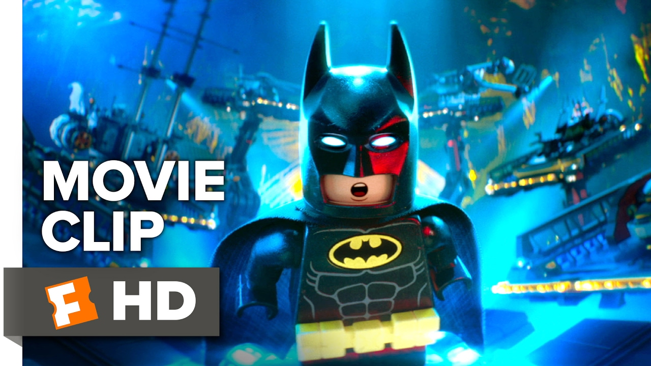 The Lego Batman Movie Clip It S The Batcave 2017 Will Arnett Movie Youtube