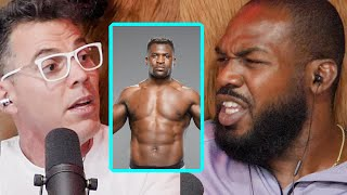 Jon Jones on Fighting Francis Ngannou and Getting Paid by Dana White | Wild Ride! Clips