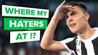 I SHUT THEM UP WITH GOALS | Paulo Dybala on haters