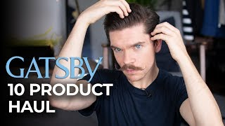 Gatsby Hair Product Haul | First Impressions