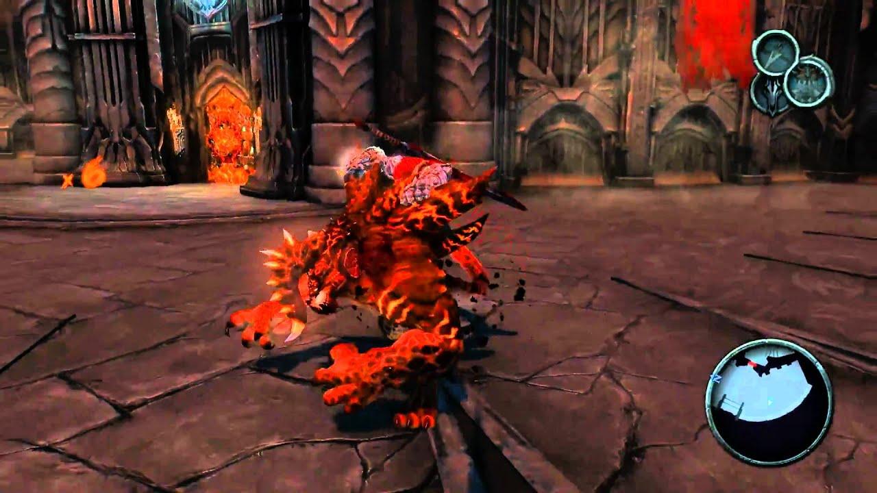 Darksiders PC : Black Throne - 2nd Bridge Fight [HD] (no chaos ...