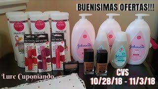 Mi compra en CVS / Buenisimas Ofertas ⏩ 10/28/18 - 11/3/18