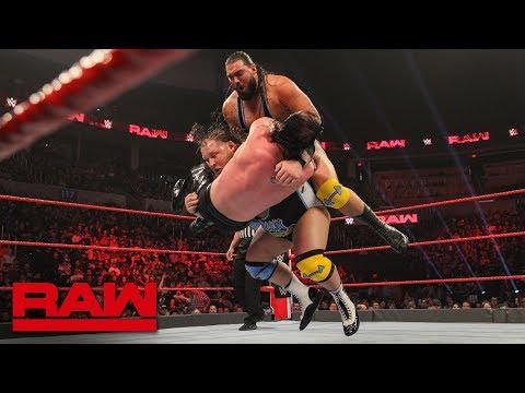 Heavy Machinery's first match on Raw: Raw, Jan. 21, 2019
