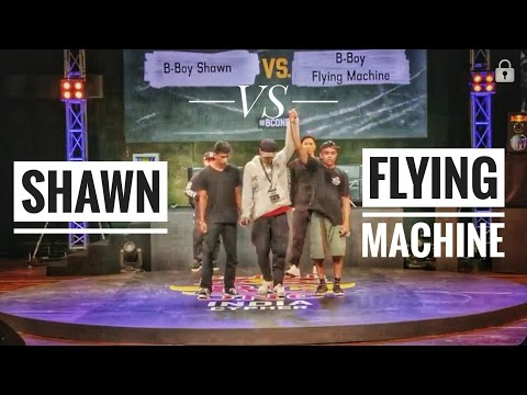 Red Bull Bc One India Cypher 2017 | Final Battle | Bboy Shawn Vs Bboy Flying Machine