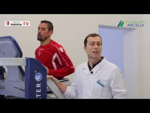 Il Calcio Padova prova AlterG anti-gravity treadmill