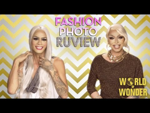 RuPaul's Drag Race Fashion Photo RuView with Raja and Raven - Season 7 Episode 6 - Death Becomes Her
