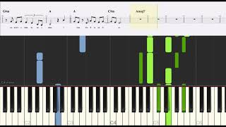Sam Smith - Fire On Fire (From Watership Down) - Piano Tutorials with Sheet Music and Lyrics