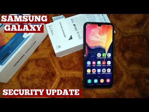 Samsung Galaxy A50-How To Perform Security Scan Antivirus Database Software Update Memory Cleaning