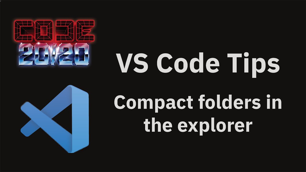Compact folders in the explorer