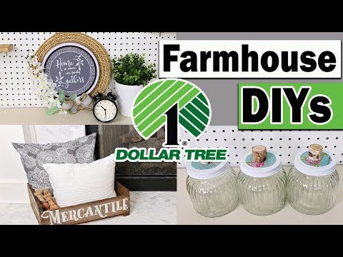 Dollar Tree DIY ⭐ Farmhouse Room Decor 2019