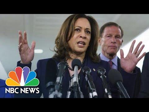 Kamala Harris: Brett Kavanaugh Vote 'Is About Raw Power' | NBC News