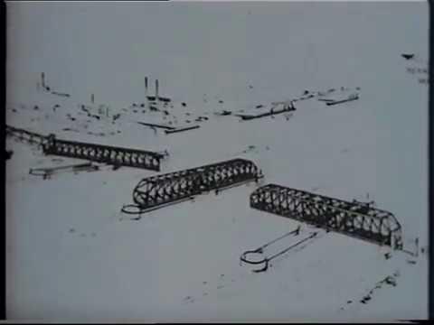 London, UK--Building The Thames Barrier Documentary 1980s Pt 1 Of 3