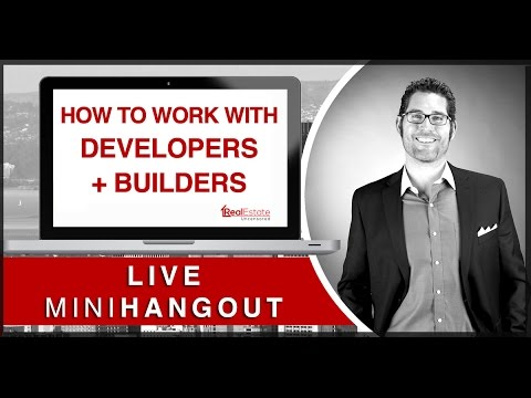 [MiniHangout] How To Work With Developers + Builders