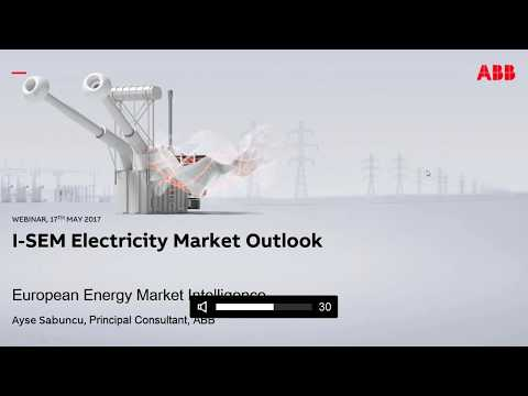 The Ireland I-SEM electricity market outlook