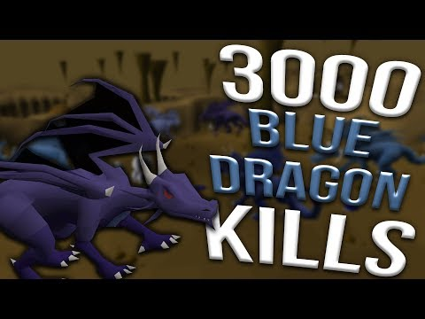 Loot From 3,000 Blue Dragons