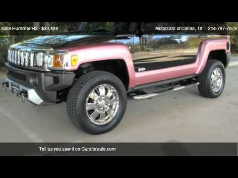 Hummer H3 Custom Suv Motorcars Of Dallas Youtube