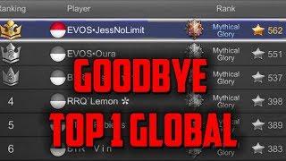 GOODBYE TOP 1 GLOBAL